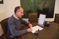 El catedrático de Historia Medieval de la UCO, Ricardo Córdoba